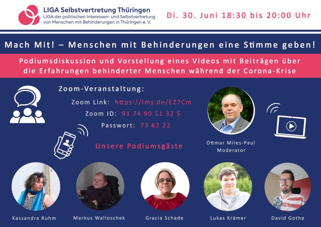 Einladung Diskussionsforum